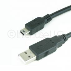 15FT 15 Feet USB 2.0 Type A Male to Mini 5-Pin Cable