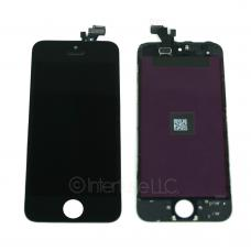 Black Touch Screen Glass Digitizer LCD Assembly for iPhone 5