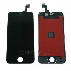Black Touch Screen Glass Digitizer LCD Assembly for iPhone 5S