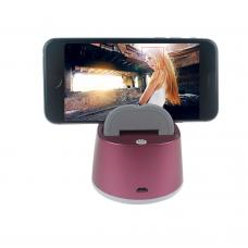 Dark Pink Selfie Robot