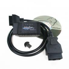 Interfuse ELM327 OBD2 Bluetooth Diagnostic Scanner + CD USB 3 Feet Extension
