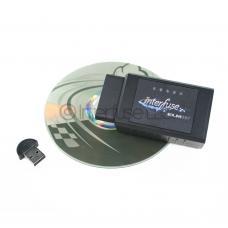 Interfuse ELM327 v2.1 OBD-II Bluetooth Car Diagnostic Scanner + Software CD & USB Dongle