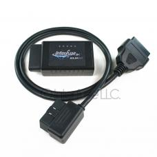 Interfuse ELM327 v2.1 WiFi OBD-II Car Diagnostic Scanner + Right Angle Cable