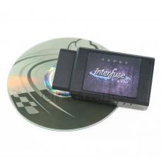 Interfuse LE ELM327 v2.1 OBD-II Bluetooth Car Diagnostic Scanner w/ Software CD