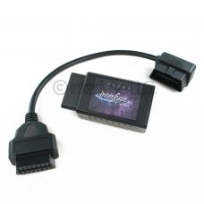 Interfuse LE ELM327 v2.1 WiFi OBD-II Car Diagnostic Scanner + 1 Foot Extension