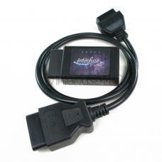 Interfuse LE ELM327 v2.1 WiFi OBD-II Car Diagnostic Scanner + 3 Foot Extension
