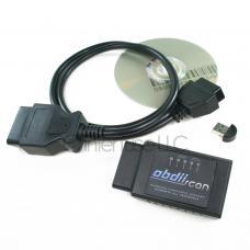 OBD-II Scan ELM327 v2.1 Bluetooth Diagnostic Scanner Package CD USB Cable