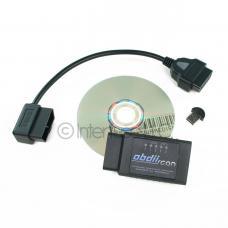 OBD-II Scan ELM327 v2.1 Bluetooth Diagnostic Scanner Package CD USB Extension