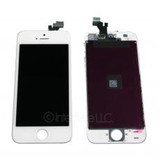 White Touch Screen Glass Digitizer LCD Assembly for iPhone 5