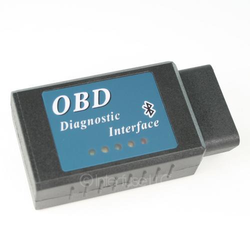 Blue ELM327 v2.1 OBD-II OBD2 Bluetooth Automobile Car Diagnostic Adapter