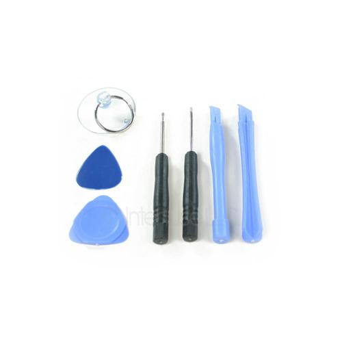 Blue iPhone 4 4G 4S Tool Set Repair Kit with Mini Pentalobe Security Screwdriver, Standard Screwdriver, Suction Cup, Pry Picks and Component Bars