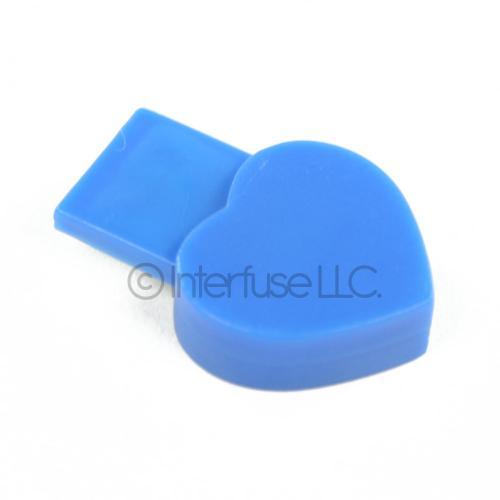 Blue Small Heart USB 2.0 Bluetooth Wireless Adapter Dongle for Windows XP, Vista, 7