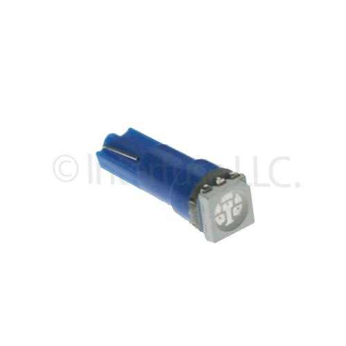 Blue T5 5050 SMD Wedge 58 70 73 74 Car Dashboard LED Light Bulbs