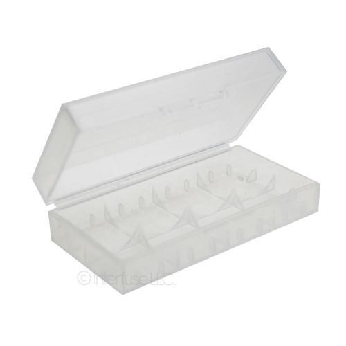 Dual 18650 Plastic Battery Case