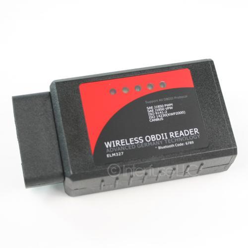 ELM327 v2.1 OBD-II Bluetooth Automobile Diagnostic Adapter Red