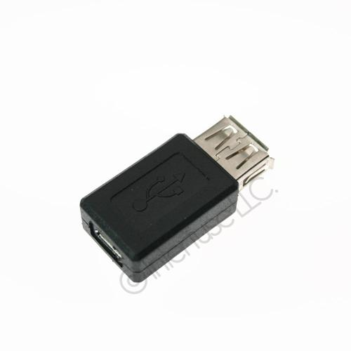 USB 2.0 Female to Micro B Female Cable Converter Adapter