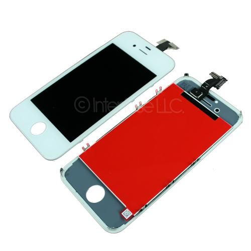 White Replacement LCD Touch Screen Digitizer Assembly for iPhone 4S