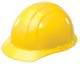 ERB� 19762 Americana Hard Hat, 4-Point Pinlock Suspension, Yellow