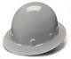 Gray Full Brim 4 Point Ratchet Sleek Shell Hard Hat