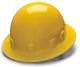 Yellow Full Brim 4 Point Ratchet Sleek Shell Hard Hat